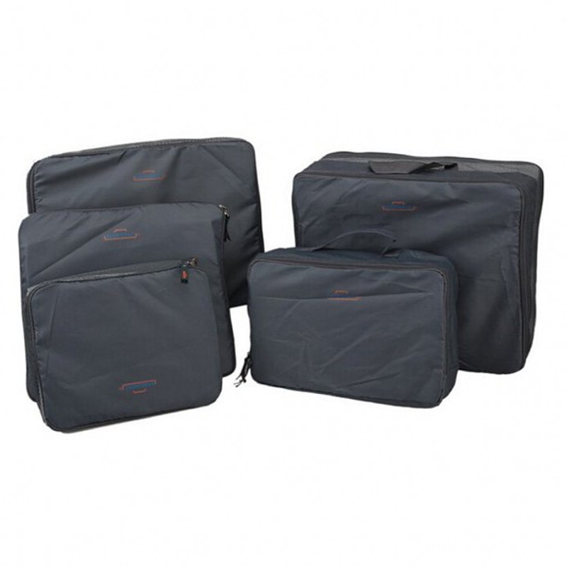 1c866c354454 Multi Functional Portable Travel Luggage Suitcase Clothes 5pcs set  Underwear Packing Cubes Organizer container Storage Bag
