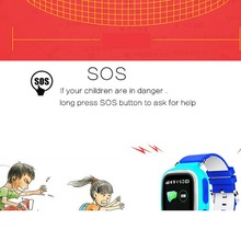 Child Smart Watch GPS Baby Anti-lost Tracker SOS Call