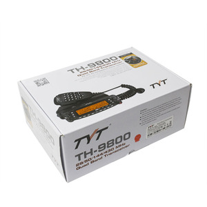 Image 5 - TYT TH 9800 Plus รถ Quad Band สถานีวิทยุ + เสาอากาศ/50 วัตต์ Transceiver TH9800 VHF UHF วิทยุ walkie talkie สำหรับรถยนต์