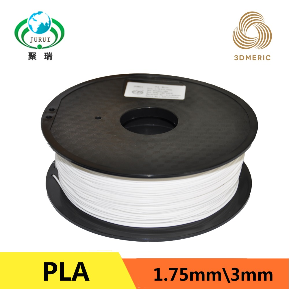 Wholesale 1 75mm PLA Filament 1kg 3D Printers Filament 20 Colors environmental friendly material