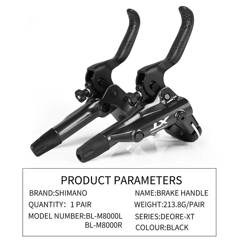fd3ea8f0ebf SHIMANO DEORE XT M8000 Hydraulic Disc Brake Include ICE TECH PADS Left &  Right for SM BH90 SBM BL BR M8000 Brake Lever & Caliper-in Bicycle Brake  from ...