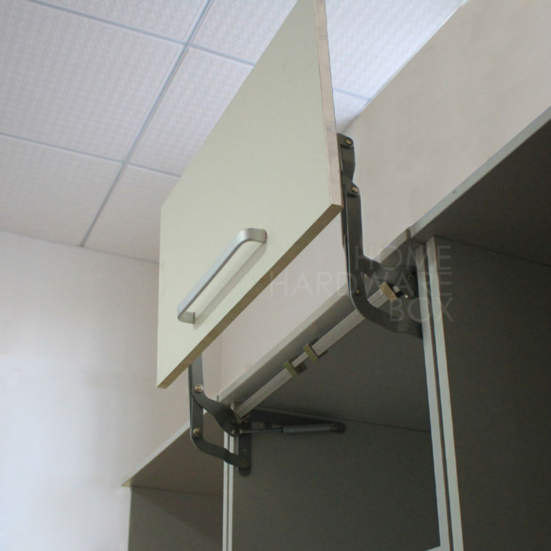 Cabinet Door Vertical Swing Lift Up Stay Pneumatic Arm Kitchen