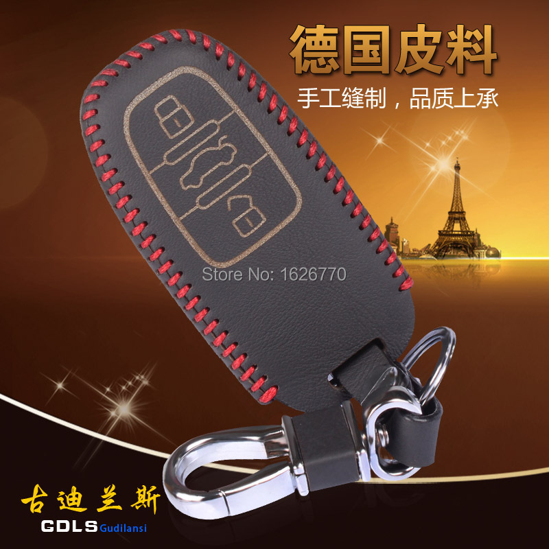 Hand-stitched-Genuine-Leather-Car-Key-Fob-Cover-Key-case-wallet-exclusive-for-A4-A5-Q5.jpg