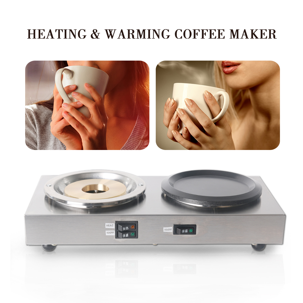 Commercial Coffee Warmer & Heater Cooker Machine Americano Coffee Cooker Thermostat control Stainless Steel EU PlugCommercial Coffee Warmer & Heater Cooker Machine Americano Coffee Cooker Thermostat control Stainless Steel EU Plug