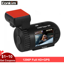 лучшая цена Car Camera Mini 0805P AIT8328P OV4689 Dash Cam 1296p Capacitor G-sensor+Parking Monitor+Low Voltage +OverTemperature Protection