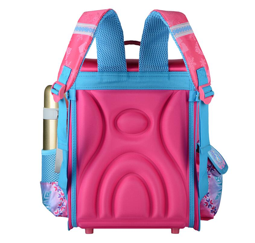 Image 3 - New Girls Cartoon Snow Queen Backpack School Bag Orthopedic Children Schoolbag Anna Elsa Backpack Mochila Infantil-in School Bags from Luggage & Bags
