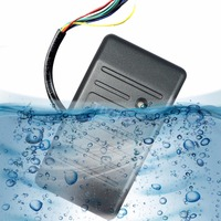 Access Control Card Reader Proximity Card Reader Wiegand 26 34 EM ID Reader ABS Shell Waterproof