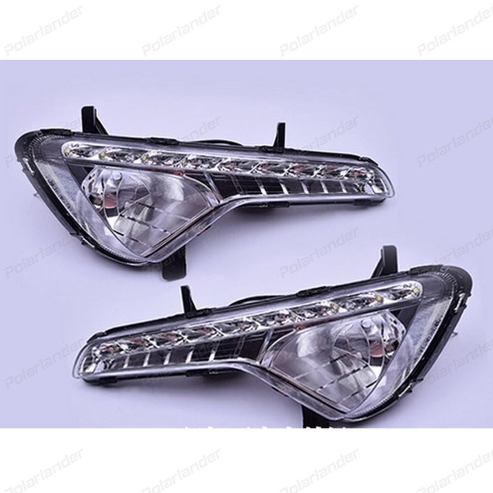 For K/ia S/portage R 2010-2013 car styling daytime running light 2 pcs auto accessory drl led