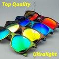 Ultraleve quadro óculos polarizados óculos De sol colorido clássico para homens e mulheres óculos Oculos De