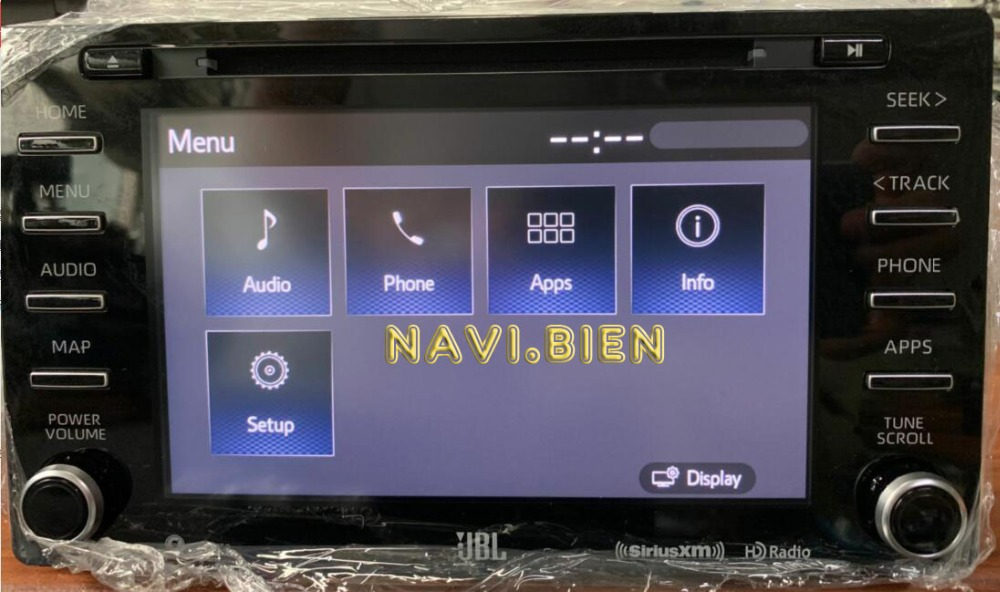 NEW car font b audio b font dvd play 86140 08080 for sequoia JBL