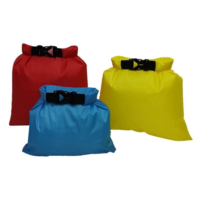 3pcs/set Waterproof Dry Bag Pack 1.5L/2.5L/3L Outdoor Waterproof River Rafting Swimming Boating Water Resistance Bag