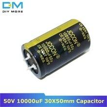 50В 10000 мкФ 30х50мм 30х50 алюминиевый электролитический конденсатор высокая частота низкое сопротивление через отверстие конденсатор 30*50 мм diymore