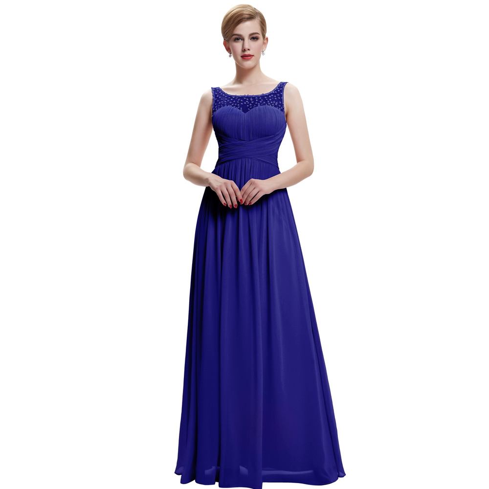 Royal Blue Long Evening Dresses