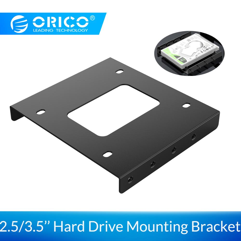 ORICO 2.5 Inch To 3.5 Inch Hard Drive Mounting Bracket Adapter Dock Metal Hard Drive Holder For PC Hard Drive Enclosure