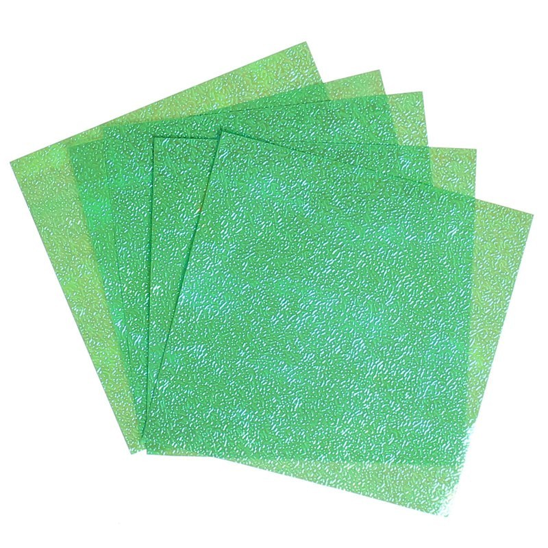 Diy 50pcsset Square Origami Paper Single Sided Solid Color Shining