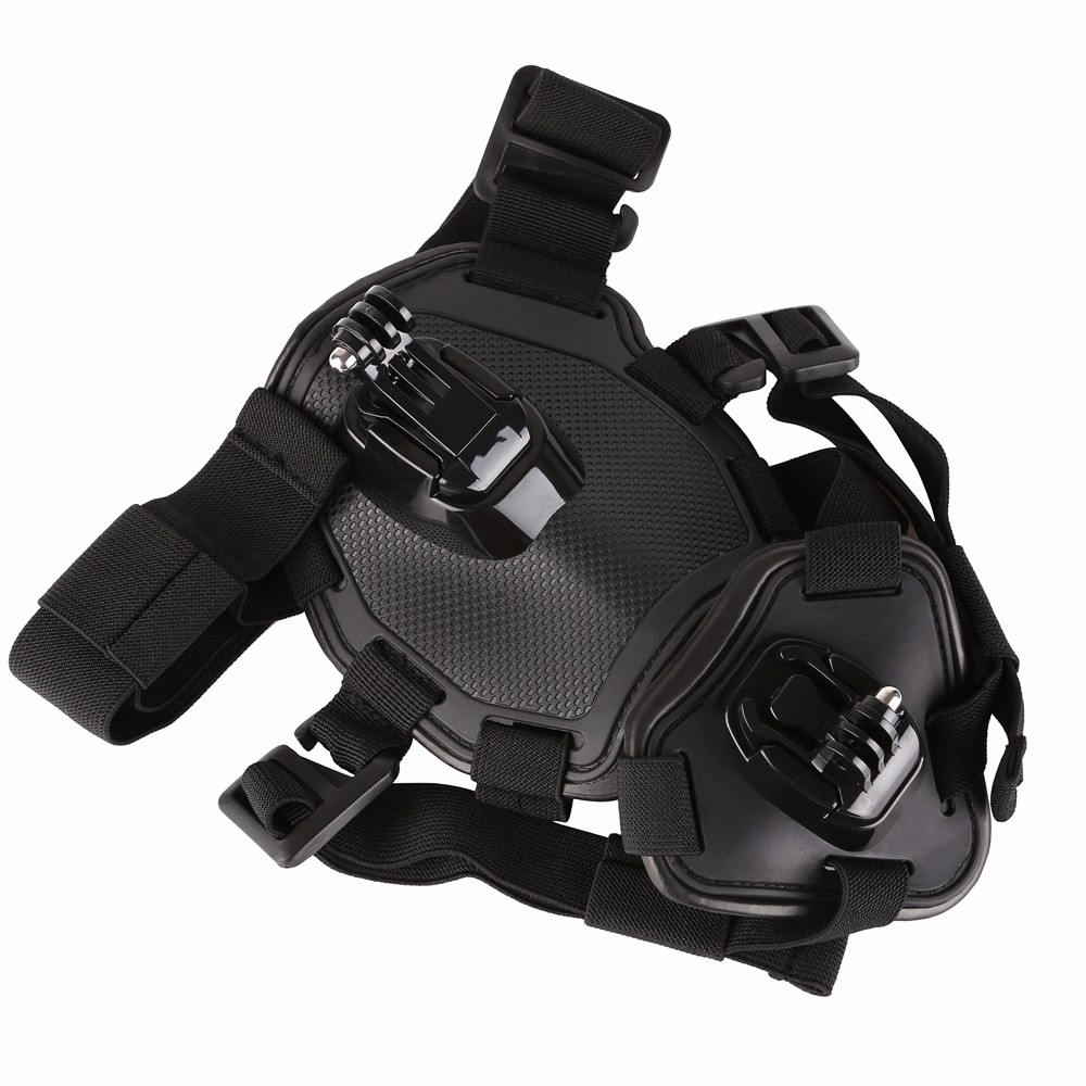 for GoPro Accessories Dog Fetch Harness Chest Strap Shoulder Belt Mount For Go Pro Hero 5 4 3 2 SJ4000 WIFI Action Camera