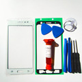 Outer glass for samsung galaxy J5 J500 LCD Touch Screen Digitizer Front Glass Lens & LOCA glue & Tools Kit