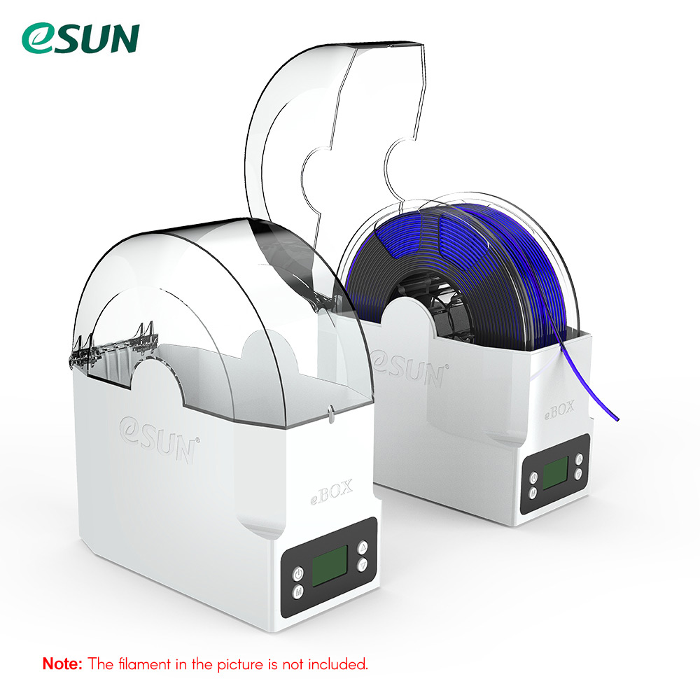 eSUN eBOX 3D Printing Filament Box Filament Storage Holder Keeping Filament Dry Measuring Filament Weight-in 3D Printing Materials from Computer & Office    1