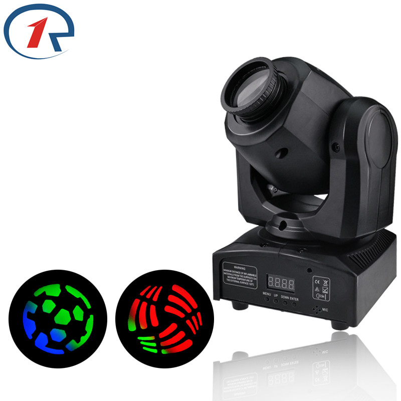 ZjRight 35W LED moving head Spot Lights DMX control stage light Night Club Bar Party concert Performance dj disco Probe lighting 10w disco dj lighting 10w led spot gobo moving head dmx effect stage light holiday lights