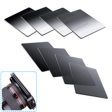 Filtro de densidade cinza graduado, cor completa, nd2 nd4 nd8 nd16, kit de filtro de série cokin p para câmera dslr