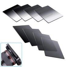 Mezun gri tam renkli kare filtre ND2 ND4 ND8 ND16 nötr yoğunluk filtresi Cokin P serisi için filtre kiti DSLR için kamera
