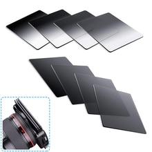 Градуированный серый полноцветный квадратный фильтр ND2 ND4 ND8 ND16 фильтр нейтральной плотности для серии Cokin P набор фильтров для цифровой зеркальной камеры