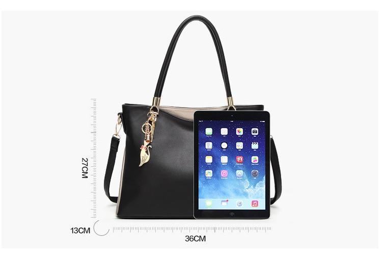e3150a5172741 Luxury Handbags Women Bags Designer Tote Bag Female 2018 Office Work  Shoulder Bag Fashion Ladies Leather Handbags A4 Gold red black beige