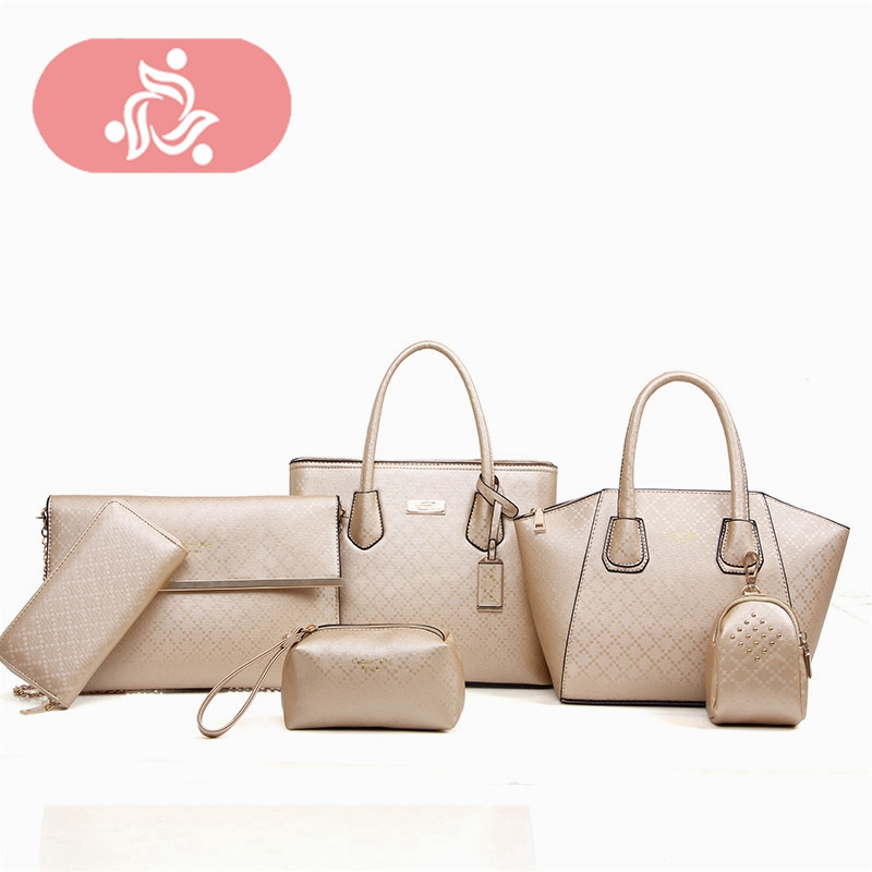 Luxury Leather Bags Handbags Women Famous Brands Bags Female High Quality Designer Tote Crossbody Bag Set Purse And Handbag 2018 luxury handbags women designer bags famous brand crossbody bag high quality female pu leather casual tote bags sequined handbag