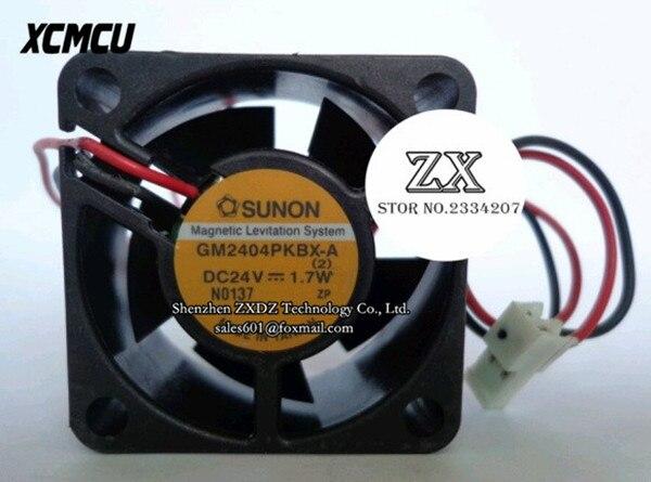 New original GM2404PKBX 4CM 24V 4cm server fan GM2404PKBX-A 40 * 40 * 20mm 24V 1.7W 4020 variable frequency cooling fan