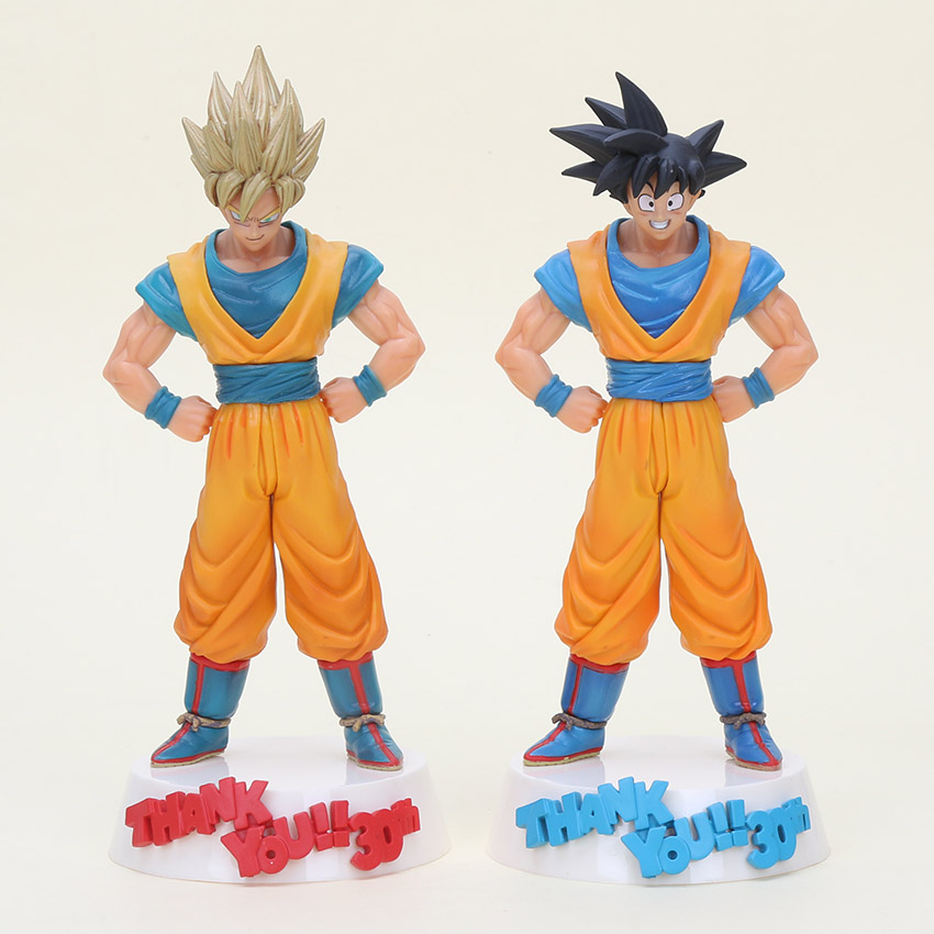 Toys & Hobbies Learned 23cm Dragon Ball Figure Son Goku Figure Msp Super Saiyan The Brush Figure Pvc Dragon Ball Z Action Figure Dbz Dragonball Z Without Return