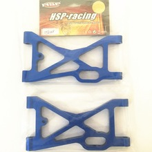 цена на hsp racing rc car accessories upgradable spare parts suspension arm for hsp 1/5 brushless buggy 94059 (part no. 054001)