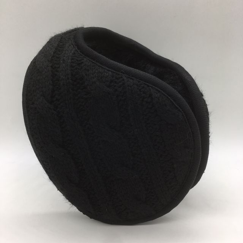 Winter Warmers Earmuffs Men Women Solid Knitted Ear Warmer