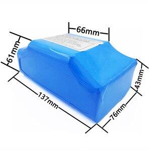 """Image 5 - Batería de litio de 36V y 5,2ah para patinete eléctrico de 2 ruedas de alto drenaje, batería de equilibrio para ajuste de equilibrio automático de 6,5 """"y 7"""""""