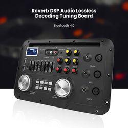 Tablero decodificador LEORY DC9-12V MP3 DSP bluetooth Karaoke Preamp mezclador sin pérdidas fibra Coaxial Ecualizador para guitarra de amplificador doméstico