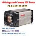 Melhor Câmera Onvif 2.0 Megapixel Full HD 1080 p 60fps 20X Zoom Com HDSDI LAN HDMI de Saída Para O sistema de conferência, colar do treinamento remoto