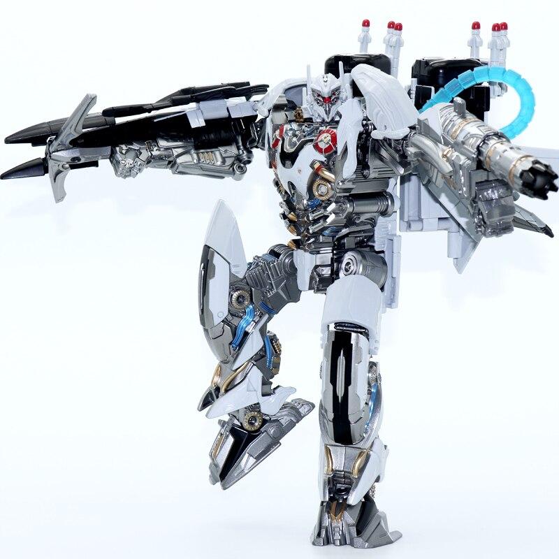 Oyuncaklar ve Hobi Ürünleri'ten Aksiyon ve Oyuncak Figürleri'de Dönüşüm Nitro Zeus Uçak Modu LS01 LS 01 TF Film Filmi KO Büyük Boy Alaşım Aksiyon Figürü Robot Koleksiyonu Oyuncaklar'da  Grup 3