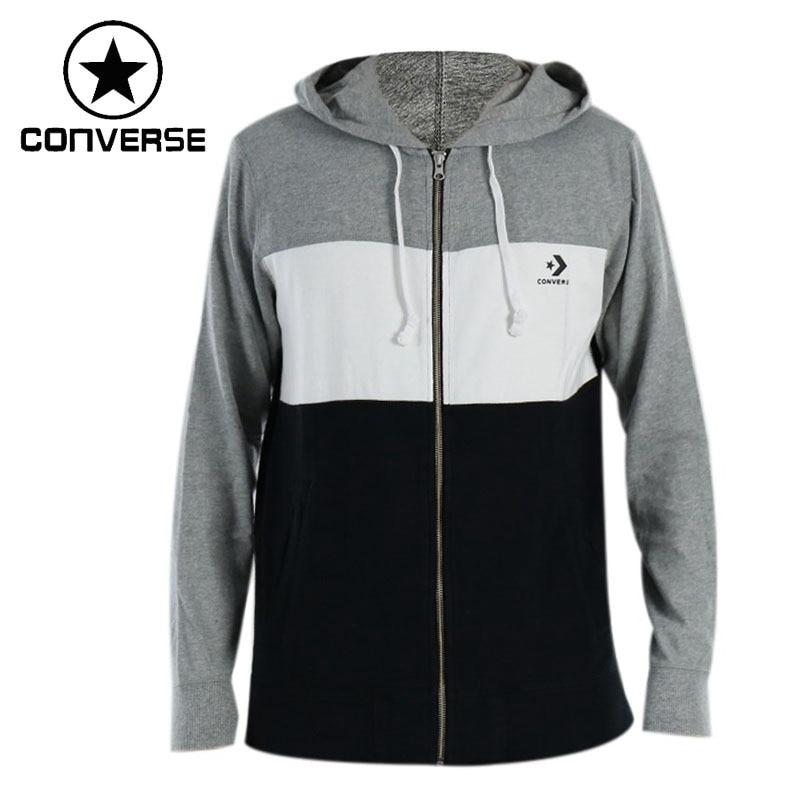 Original New Arrival 2018 Converse Lightweight Wordmark Hoodie Men's Jacket Hooded Sportswear original nike women s jacket hoodie sportswear