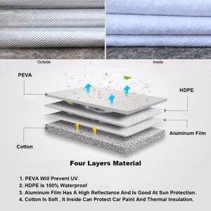 Image 2 - Kayme aluminium Waterproof car covers super sun protection dust Rain car cover full universal auto suv protective for Hyundai