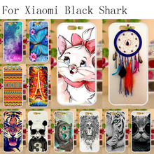 Anunob For Coque Xiaomi Black Shark Case Silicone 5.99 Anti-knock Soft TPU Protective Cover Fundas