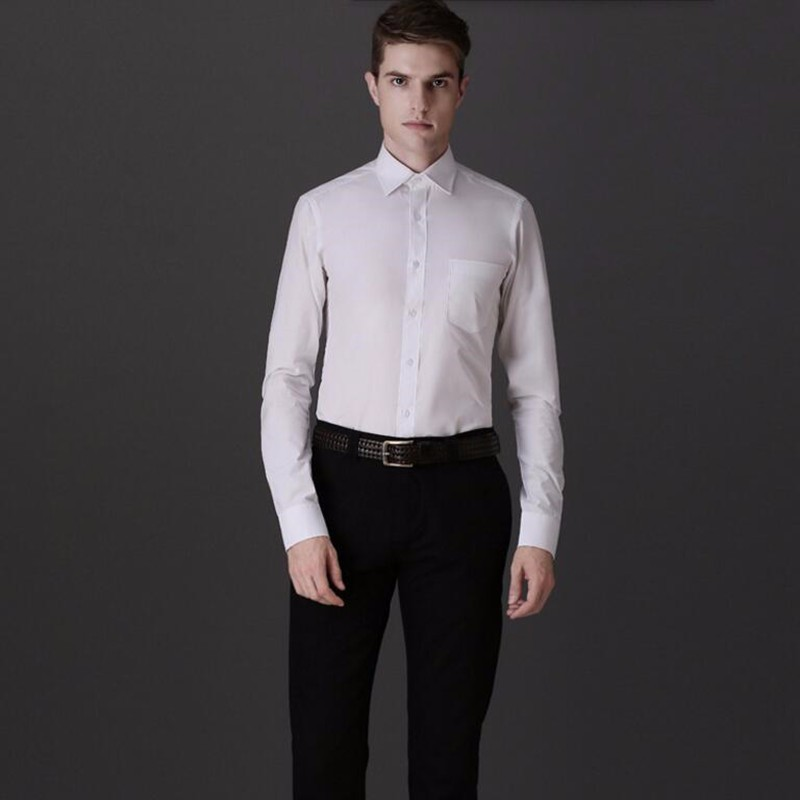 8.1Tailor made men shirt slim fit men wedding shirt tuxedo white comfortable soft prom shirt tuxedo long sleeve shirt