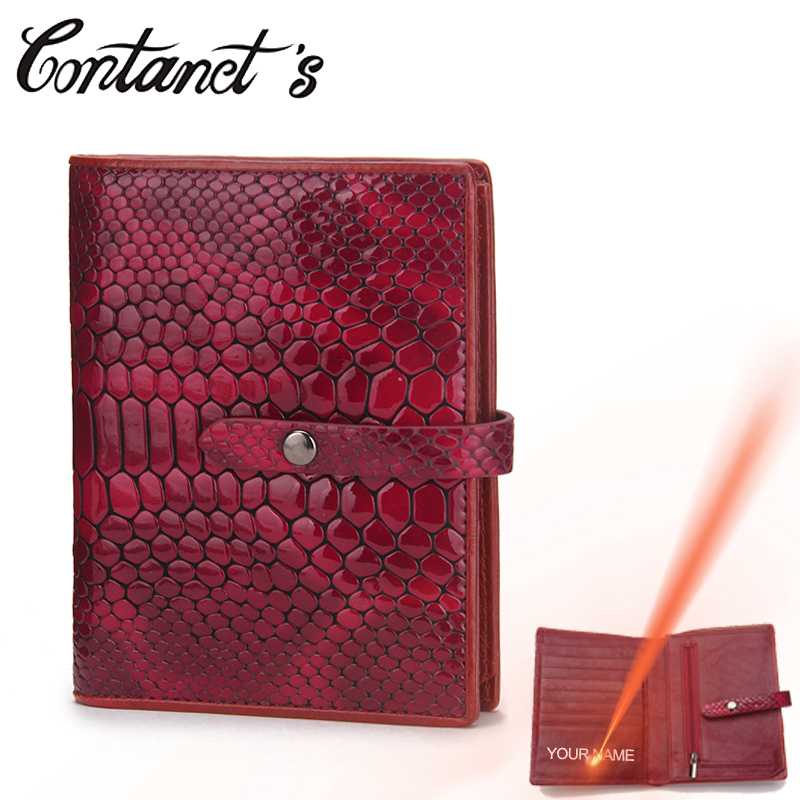 Luxury Brand Women Travel Wallet Passport Cover Genuine Leather Snake Embossed Passport Holder Bag Credit Card Pocket Coin Purse купить
