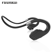Fineblue M1 Wireless Bluetooth 4.1 Sports Running Stereo Earphones Headset with Mic Power display for Smart phone