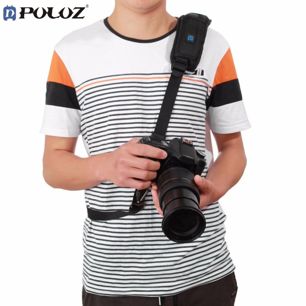 PULUZ Fashion Durable Camera Shoulder Neck Strap Adjustable Camera Shoulder Neck Strap Belt for DSLR Camera