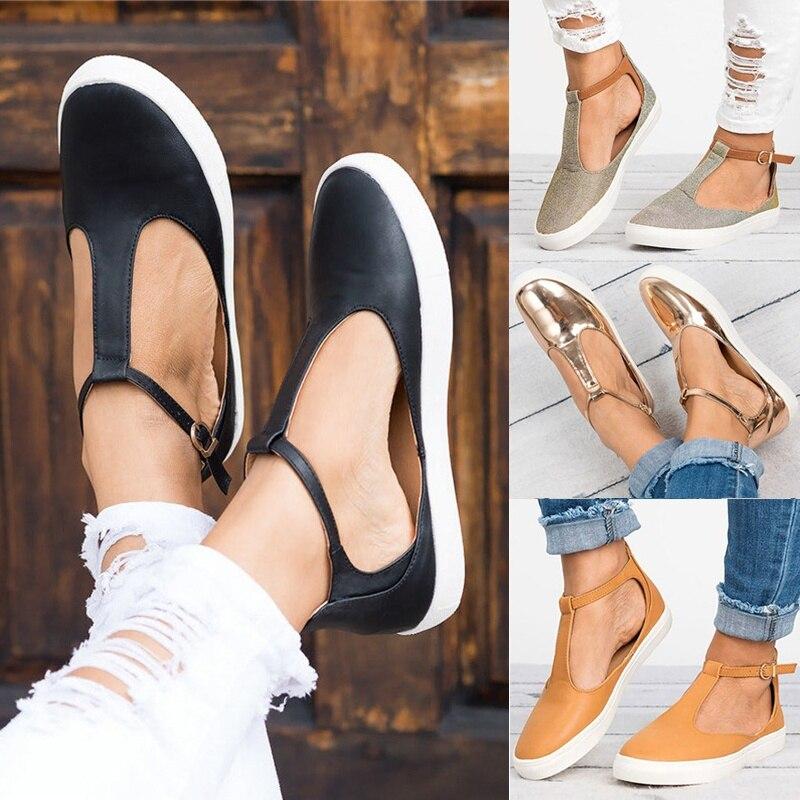 Summer Women Sandals Fashion Women Closed Toe Flat Shoes Wom