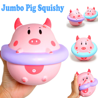 Cute Jumbo Pig Squishy Soft Doll Collectibles Cartoon Cream Scented Super Slow Rising Original Packaging