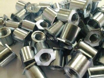 SOA-M6-3 Thru-hole threaded  standoffs,   aluminum 6061, Nature ,PEM standard,in stock, Made in china,