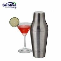 600 ml Ze Stali Nierdzewnej Francuski Shaker Do Koktajli Klasyczny i Elegancki Bar Koktajlowy Shaker Barman Pasek Narzędzi
