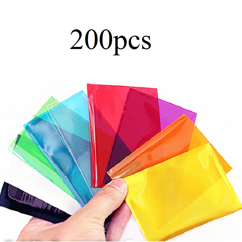 65x90mm 200pcs board game card sleeves for magical games Cards Protector for TCG Trading Cards holder cover ...