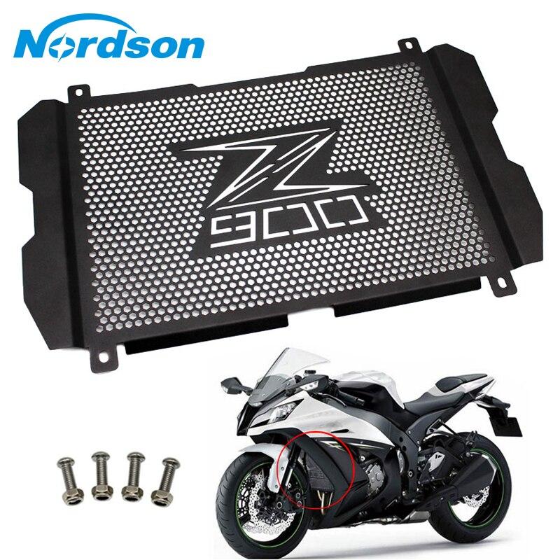 Nordson moto radiateur garde Grille couverture en acier protecteur Z900 pour KAWASAKI Z900 2017 2018 haute qualité en Aluminium radiateur