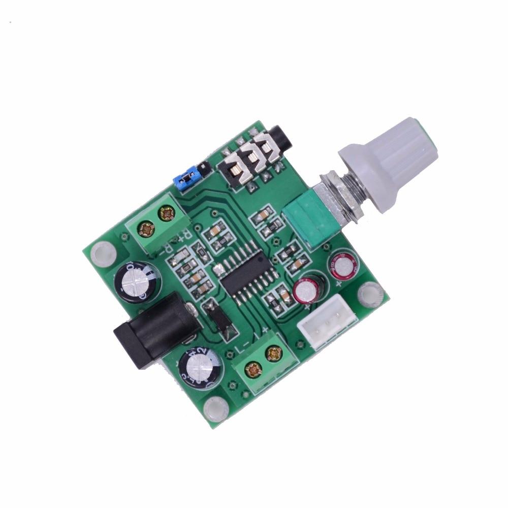 DC 5-9V Digital Amplifier Board 4 Ohm 8 Ohm Dual 10W Mini Amplifier Module Volume Adjustable Stereo Output